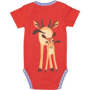 Achterkant romper korte mouw gazelle