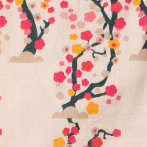 Detail van de bloesem stof