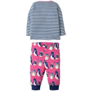Pyjama van organisch katoen met pinguins