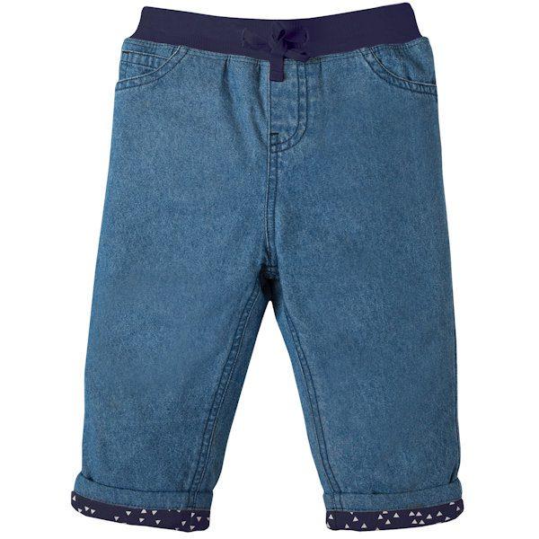 Gevoerde jeans van organisch katoen