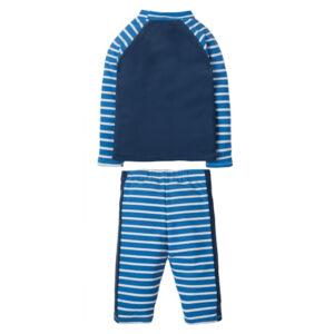 UV50 tweedelig zwempak met zeemeeuw en streepjes