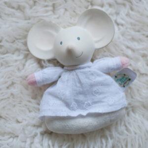 Rammelaar muis met natuurlijk rubber hoofd