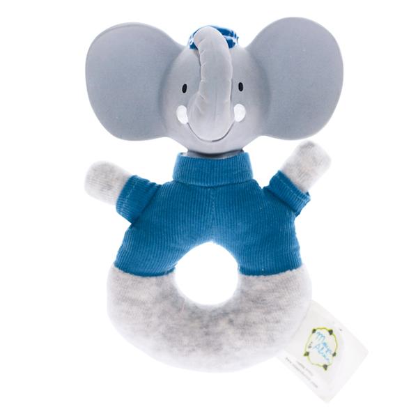 Rammelaar olifant met natuurlijk rubber hoofd