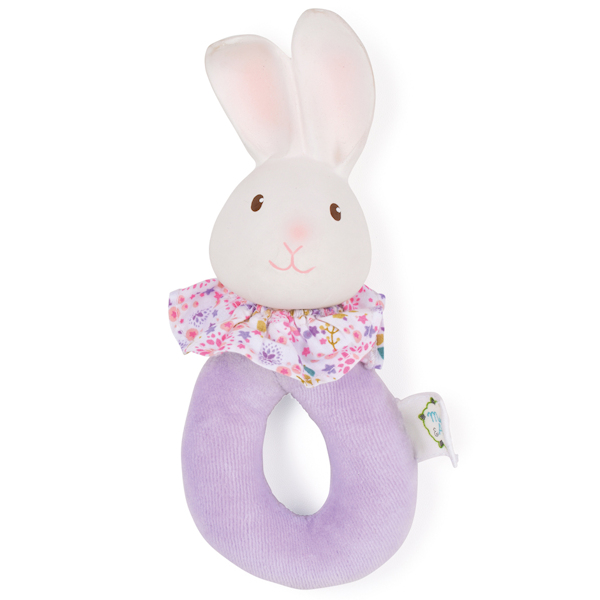 Rammelaar konijn met natuurlijk rubber hoofd