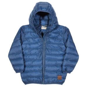 Lichtgewicht winterjas in donkerblauw