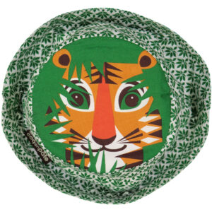 Hoed van organisch katoen met tijger