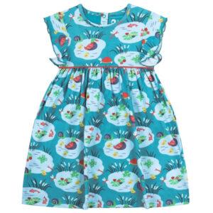 Pondlife jurk van biokatoen