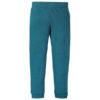 Staalblauwe legging van biokatoen
