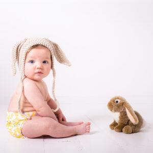 Totsbots EasyFit luier Hop Little Bunny
