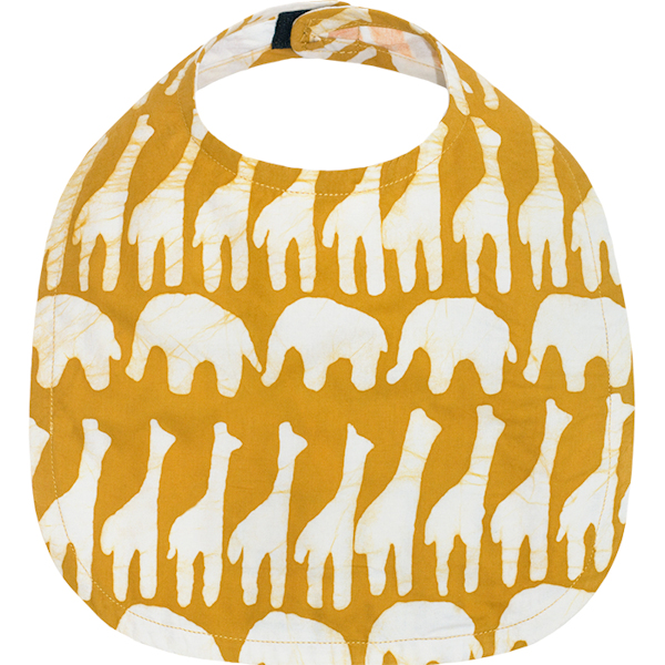 Slab met giraffen van Afrikaanse batik