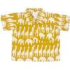 Shirt van Afrikaanse batik met giraffen