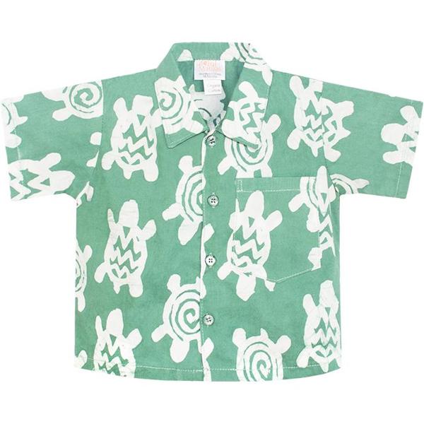 Shirt Afrikaanse batik met schildpadden