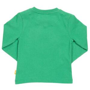Groen shirt met tractor en biggetje