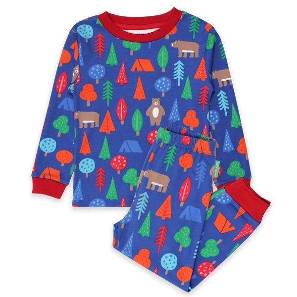 TOBY TIGER Pyjama van biokatoen met beren