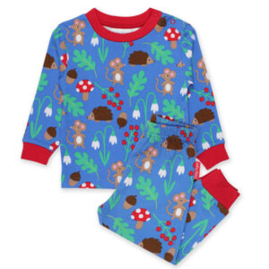 TOBY TIGER Pyjama biokatoen met muisjes
