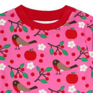 TOBY TIGER Pyjama biokatoen met vogeltjes
