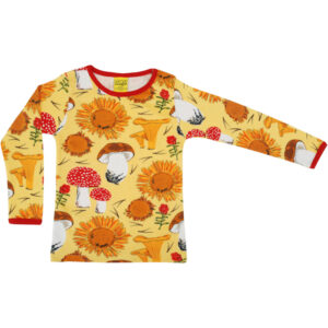 DUNS Shirt lange mouwen Sunflower Yellow