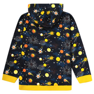 PICCALILLY Hoodie Solar Space