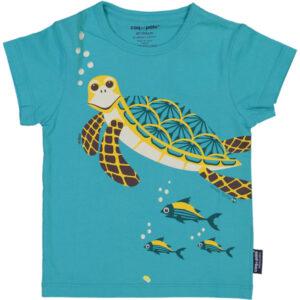 Coq en Pate shirt biokatoen met schildpad