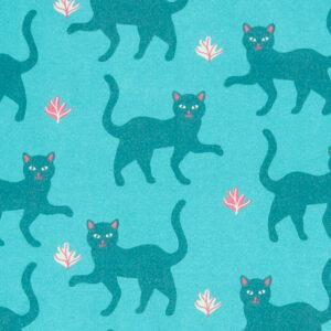PICCALILLY Salopette met katten