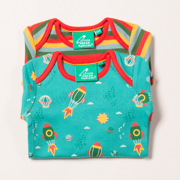 LITTLE GREEN RADICALS Rompers Night Sky