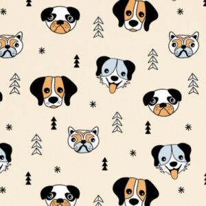 print HAPPY DOGS