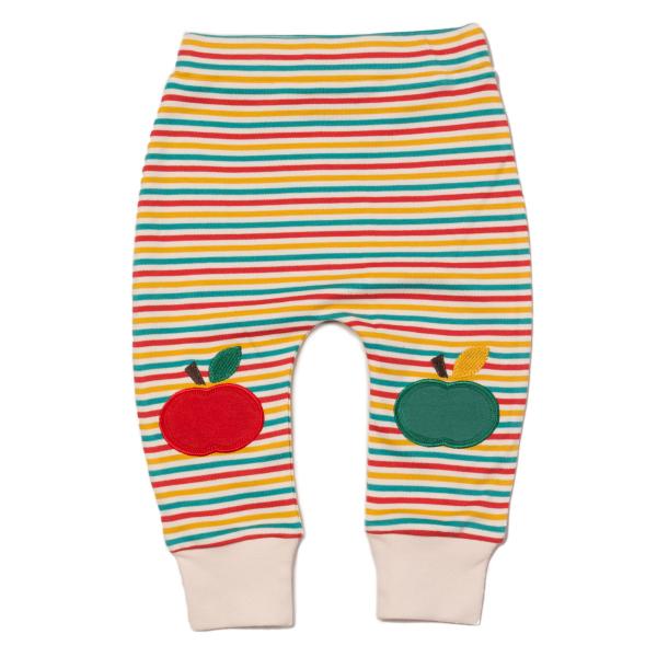 LITTLE GREEN RADICALS Rainbow Apple joggingbroek