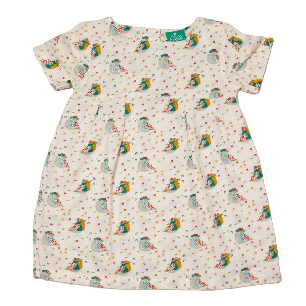 LITTLE GREEN RADICALS Singing Birds zomerjurk