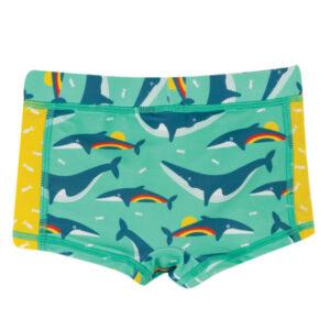 FRUGI Rainbow Whales zwembroek