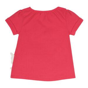 FRUGI Rood shirt met ganzen